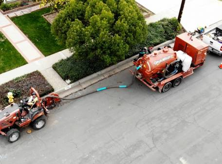 Placentia FiberCity® construction reaches its first milestone